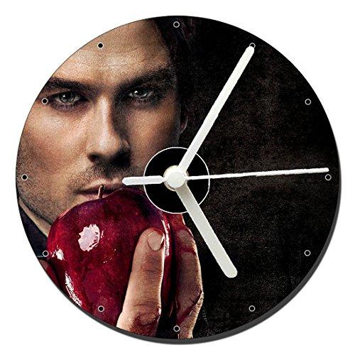 MasTazas Cronicas Vampiricas The Vampire Diaries Ian Somerhalder Tischuhren CD Clock 12cm