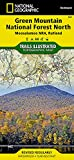 Green Mountain National Forest North [Moosalamoo National Recreation Area, Rutland] (National Geographic Trails Illustrated Map, 747)