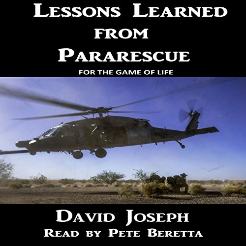Lessons Learned from Pararescue audiobook cover art