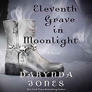 Eleventh Grave in Moonlight     A Novel              Written by:                                                                                                                                 Darynda Jones                               Narrated by:                                                                                                                                 Lorelei King                      Length: 9 hrs and 18 mins     10 ratings     Overall 4.9