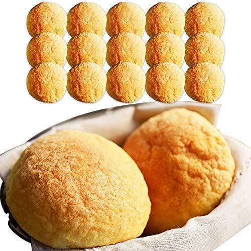 牛乳 メロンパン 15個 セット 北海道産 牛乳 100% 小麦粉 生クリーム 使用 北海道 北国からの贈り物