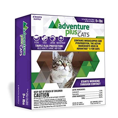 Triple Flea Protection for Larger Cats by Adventure Plus