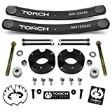 TORCH 2' Lift Kit for 2005-2021 Toyota Tacoma 4X4 4WD w Diff Drop Add A Leaf TRD SR5 - Models with 6 Lug Wheel Bolt Pattern ONLY