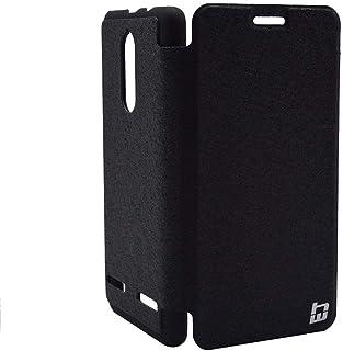 Flip Cover By HW For Lenovo K6 - BLACK