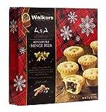 Walkers 9 Mini Tartaletas con Frutos Secos y Frutas Confitadas picadas   Frutas secas y pasteles confitados   Cupcakes de Navidad - 1 x 225 gramos