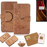 K-S-Trade® 360° Cover Cork Case For OnePlus 6T McLaren
