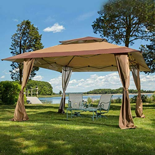MAXIMUS Royal 4x4m Pop-up Gazebo Outdoor Patio Canopy Tent