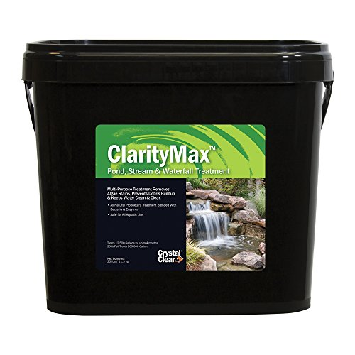 CrystalClear ClarityMax - Pond, Stream & Waterfall Treatment - 25 lbs Treats up to 200,000 gallons