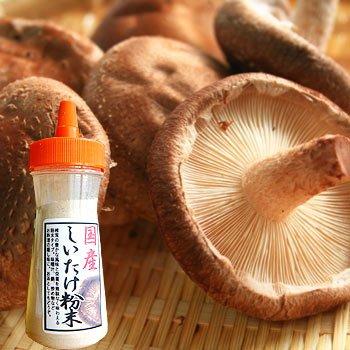 椎茸粉末ボトル40g×2個セット しいたけ シイタケ パウダー 茶 料理