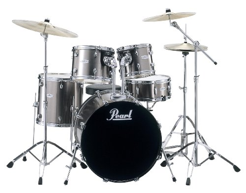 Pearl Forum FZH705D/C21 Schlagzeug Smokey Chrome