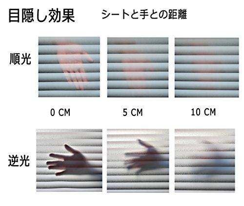 DUOFIRE窓用フィルム目隠しシート紫外線・UVカットブラインド模様DP040(0.9MX2M)