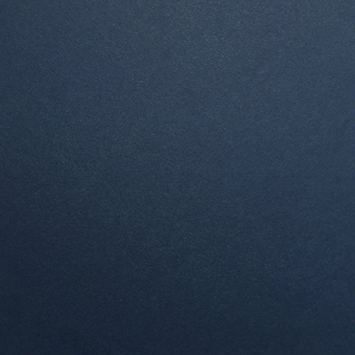 Nightshift Blue / DARK BLUE Cardstock Paper - 12 x 12 inch PREMIUM 80 LB. COVER from - 25 Sheets from Cardstock Warehouse