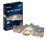 -SP06 0122 rompecabezas 3D Museo del Louvre (jap?n importaci?n)