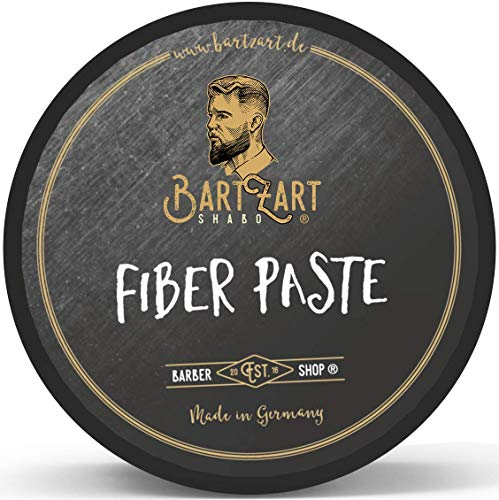BartZart 100ml Fiber Paste I Haarwachs für Locken I verleiht Glanz, Halt & Definition I Haar Creme für dickes und lockiges Haar I Haar wax for curls