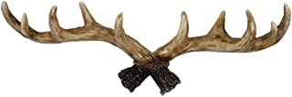 KONVINIT Deer Antlers Wall Hooks Antique Clothes Hanger Rack, Rustic, Decorative Gift, Home, Livingroom Decor