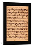 Gerahmtes Bild von Johann Sebastian Bach The Brandenburger