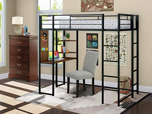 East West Furniture BUTLBLK Bunk