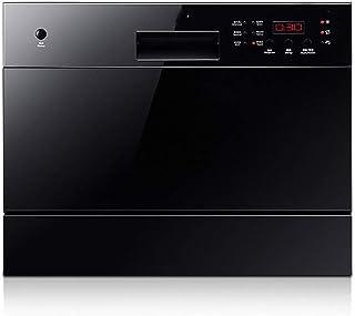 DWLXSH Lavavajillas Integrado, Compacto encimera Congelador for el hogar Cocina Apartamento lavavajillas Integrado, seco y Desinfección, Ahorro de Energía