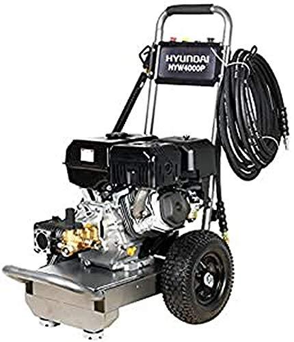Hyundai HY-HYW2500P Hidrolimpiadora a presión agua fría, Negro, Grande