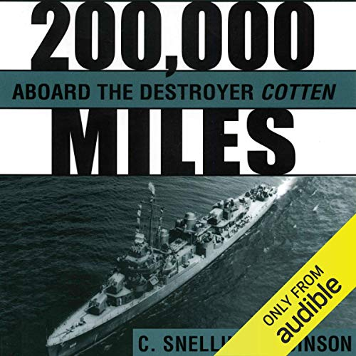200,000 Miles aboard the Destroyer Cotten  By  cover art