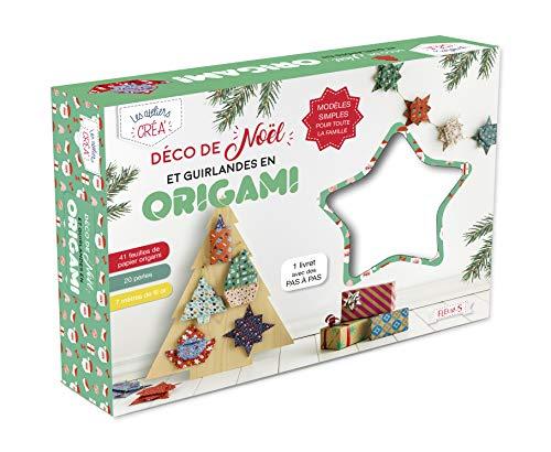 Déco de Noël et guirlandes en origami