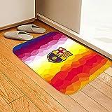Entrada Manchester United Real Madrid Barcelona AC Milan alfombra de fútbol sala de estar dormitorio alfombra de piso alfombra de piso sala de estar absorbente antideslizante dormitorio-UNA_50 * 80
