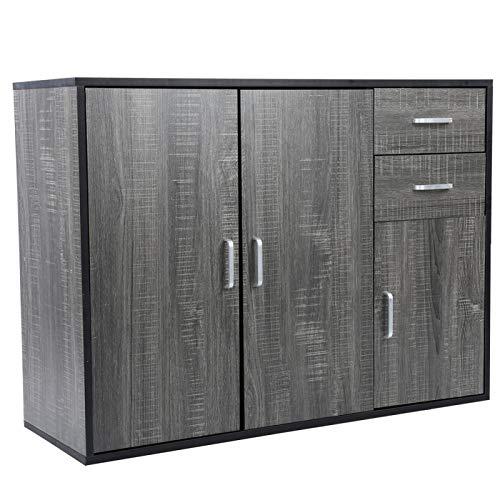 Cerlingwee Gabinete de Almacenamiento de gabinete de Acento Multifuncional de Gran Capacidad, Armario, Sala de Estar para Cocina casera
