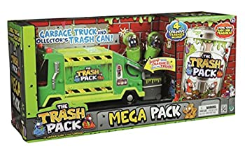 The Trash Pack Mega Pack with Garbage Truck and Collector s Trash Can
