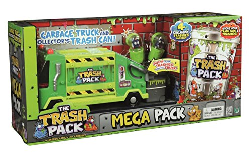 Trash Packs The Mega Pack with Garbage Truck and Collector's Trash Can