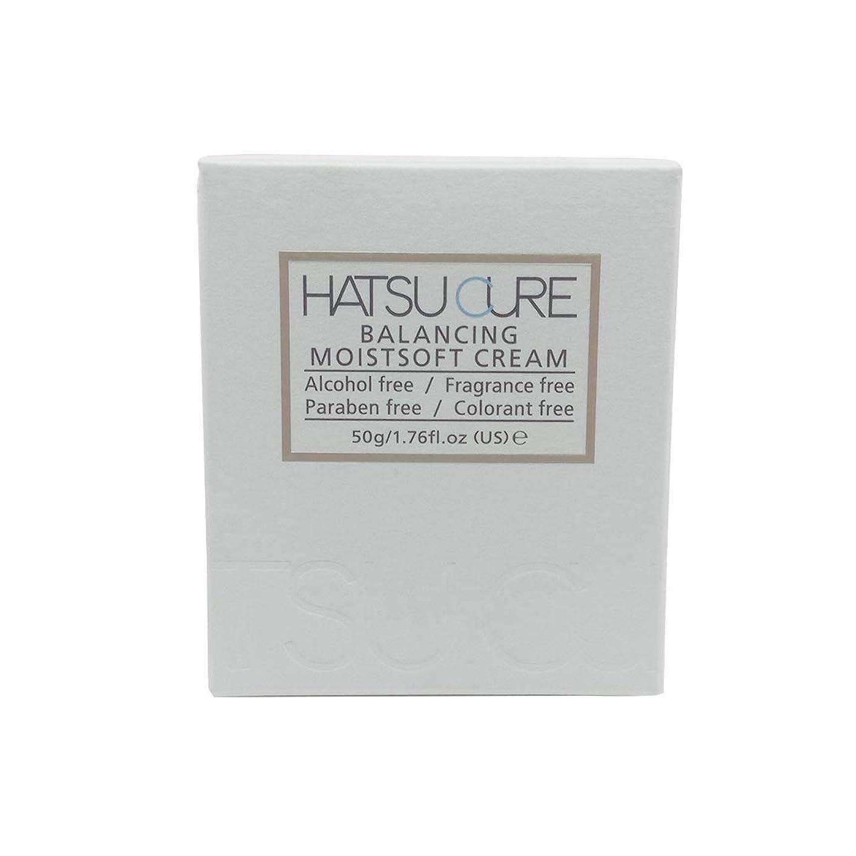 核ピンク導入するHATSU CURE バランシングモイストソフトクリームHC