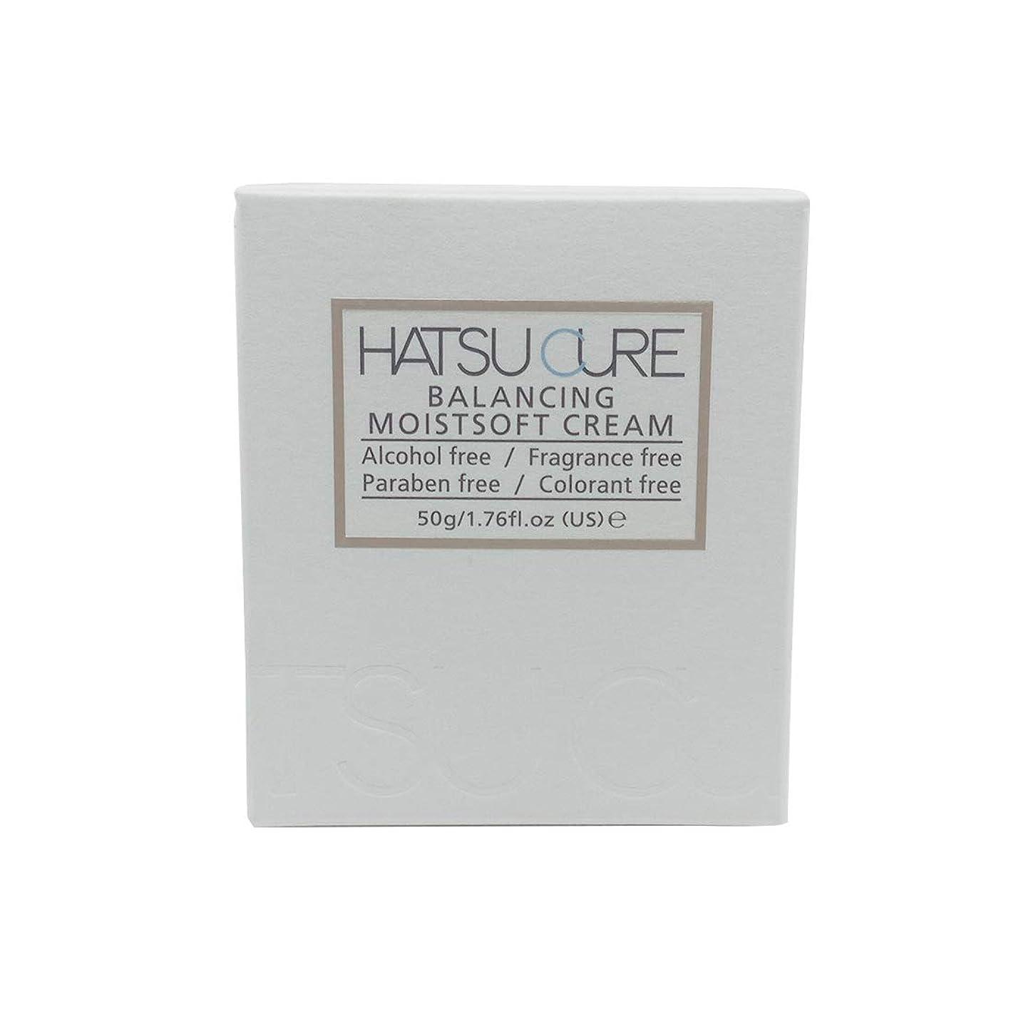 ガラガラ準備した指導するHATSU CURE バランシングモイストソフトクリームHC