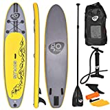 COSTWAY SUP Board 335 x 76 x 15cm, Stand up Board aufblasbar, Stand up Paddling Board, Stand up Paddel Board, Paddelboard, inkl. Rucksack, Pumpe, Reparaturset, Paddel und Center Finne