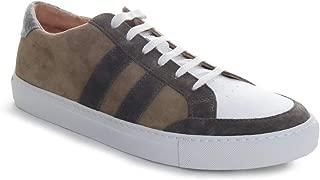 Men's Suede/Leather Sneaker