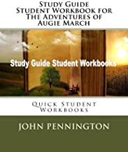 Study Guide Student Workbook for The Adventures of Augie March: Quick Student Workbooks