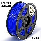 【Alta compatibilidad 1.75 mm】El filamento Enotepad PETG 1.75mm 1kg es de alta compatibilidad con impresoras 3D y bolígrafos 3D que usan filamento de 1.75 mm. Tales como: SUNLU, 3D Hero, Anycubic, Ante, Geetech, Prusa, Makerbot, etc. 【Enotepad PETG fi...