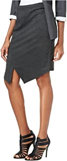 kensie Women's Compression Ponte Skirt