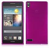 Cadorabo Hülle für Huawei P6 - Hülle in PINK –