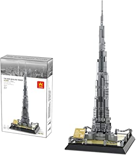 Architecture Model Kits, 580PCS Burj Khalifa Building Kit Toy As Gift for Kids and Adults