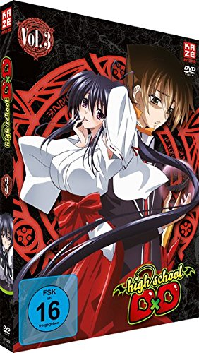 Highschool DxD - Staffel 1 - Vol.3 - [DVD]