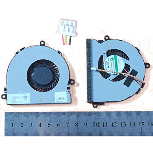 IFINGER Ventilador Fan para Laptop portáti HP Pavilion 14-G 14-S 14-R Tpn-C116 Tpn-C125 240 G3 250 3 Pin