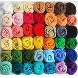 Artibest - Lana de fieltro para manualidades (36 colores)