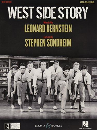 West Side Story: Auszüge aus dem Musical. Gesang und Klavier.: Vocal Selections (CHANT)