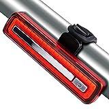 Volcano Eye Luz LED Trasera Bicicleta Luces Traseras para Bici Ultra Brillo USB Recargable Luz Trasera Potente y Impermeable Usado en Casco Mochila Bicicleta de Montaña Advertencia Seguridad