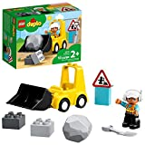 LEGO DUPLO Construction Bulldozer 10930 Mini Bulldozer Truck Set; Construction Toy for Kids Aged 2 and Up; Small Bulldozer Toy and Construction Worker Playset for Toddlers, New 2020 (10 Pieces)