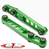 AJP Distributors Rear Lower Control Arm Green With Polyurethane Bushings Compatible/Replacement For Civic Integra 1988 1989 1990 1991 1992 1993 1994 1995 88 89 90 91 92 93 94 95