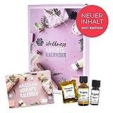 Adventskalender Frauen Wellness von mituso 2021 Edition, mit Naturkosmetik, Duft und Deko, Entspannung Weihnachtskalender Frauen mit 24 Überraschungen