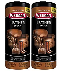 Weiman Leather Wipes-30 count (2-Pack) Review