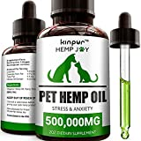 Kinpur Natural Hemp Oil for Dogs and Cats - 500,000mg - Pet...