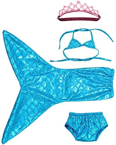 Turtle Story Juguetes de 45,7 cm Accesorios para muñecas Sorpresa Ropa de sirena Ropa de muñeca Azul, Nombre del color: Rojo JXNB (Color: Azul)