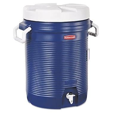 Rubbermaid 5 Gallon Modern Blue Water Jug Cooler